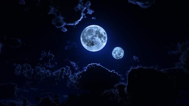 Rüyada İki Ay Görmek