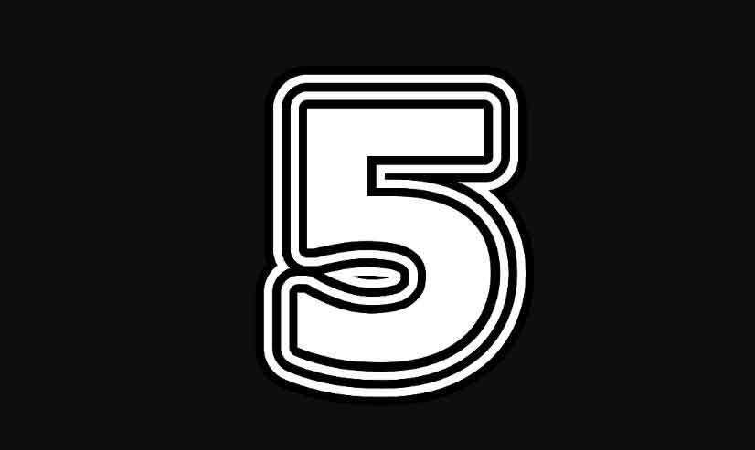Rüyada 5 Sayısını Görmek 1