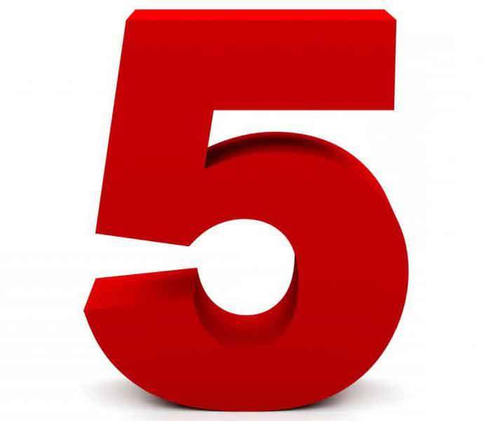 Rüyada 5 Sayısını Görmek 4