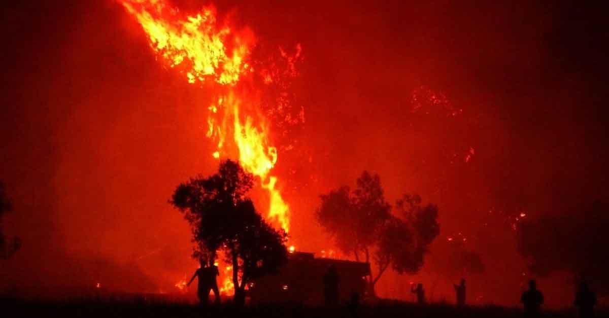 Rüyada Yangın Görmek 1